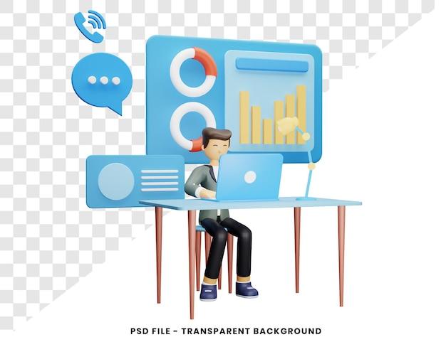 Nowoczesna koncepcja telepracy renderowania 3d