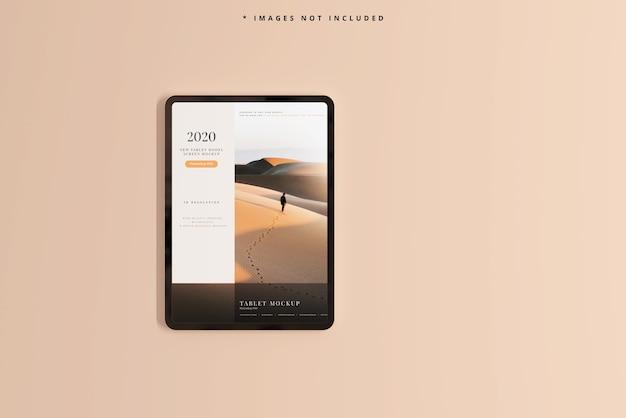 Nowoczesna makieta ekranu tabletu