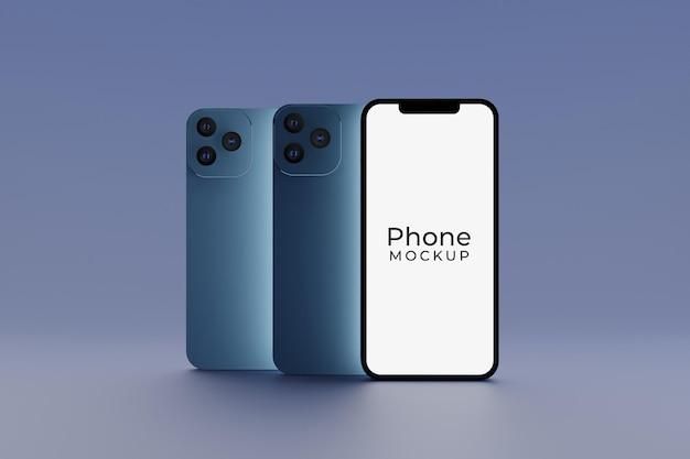 Nowoczesna makieta smartfona