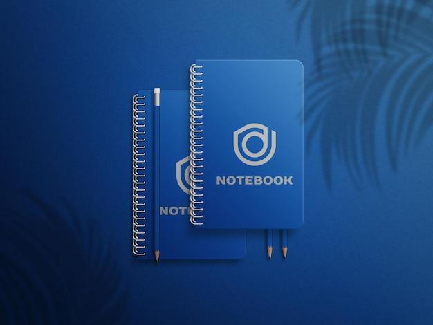 Nowoczesna realistyczna makieta notebooka