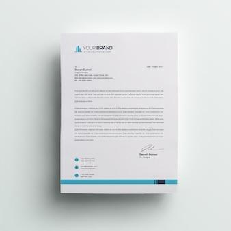 Nowoczesny papier firmowy