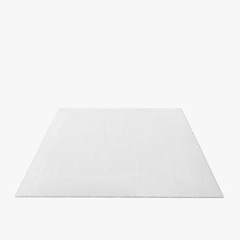 Nowoczesny pusty kształt kwadratowy styl puste