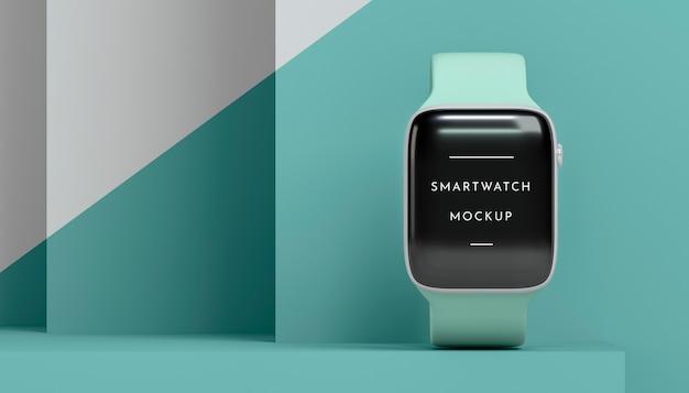 Nowoczesny smartwatch z makietą ekranu