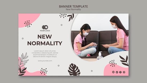 Nowy styl szablonu banera normalności