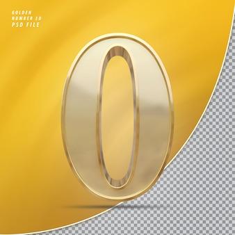 Numer 0 złoto
