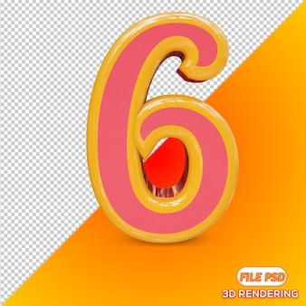 Numer 3d 6