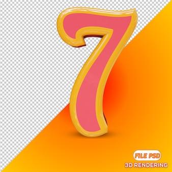 Numer 3d 7