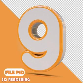 Numer 3d 9