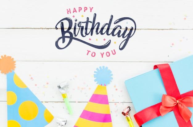 Obchody urodzin z prezentami