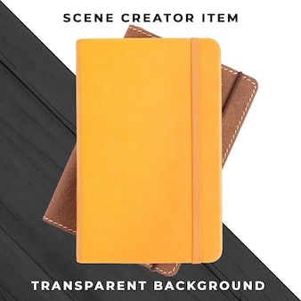 Obiekt notebooka przezroczysty psd
