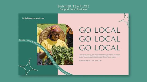 Obsługa szablonu banera dla lokalnych firm