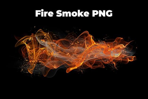 Ogień dym