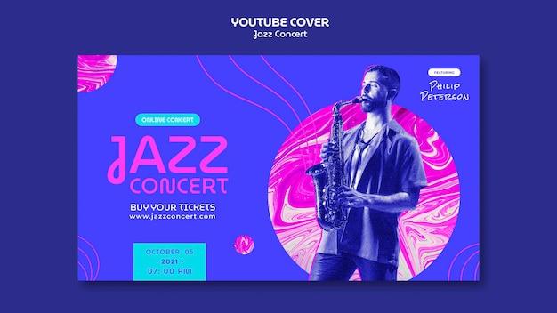 Okładka koncertu jazzowego na youtube