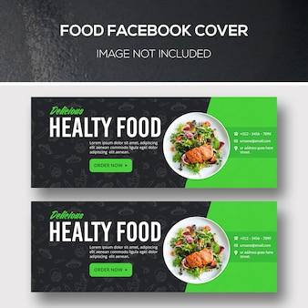 Okładka na facebooka z jedzeniem