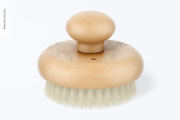 Okrągła makieta szczotki do masażu