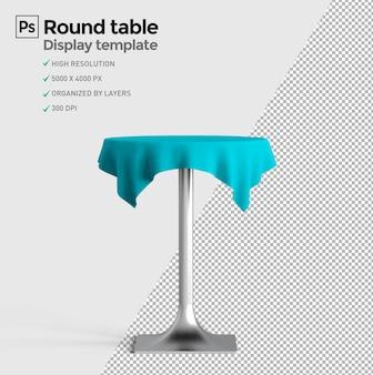 Okrągły stół do prezentacji produktu w kreatorze scen prezentacji