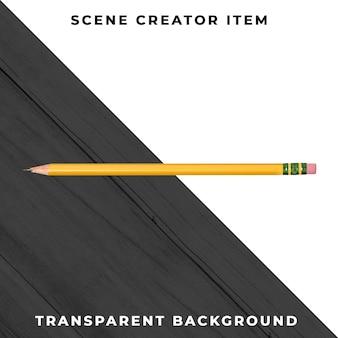 Ołówek obiekt przezroczysty psd