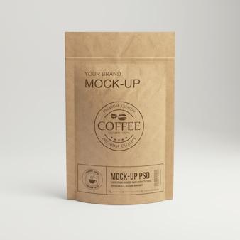 Opakowanie papierowej torby na kawę