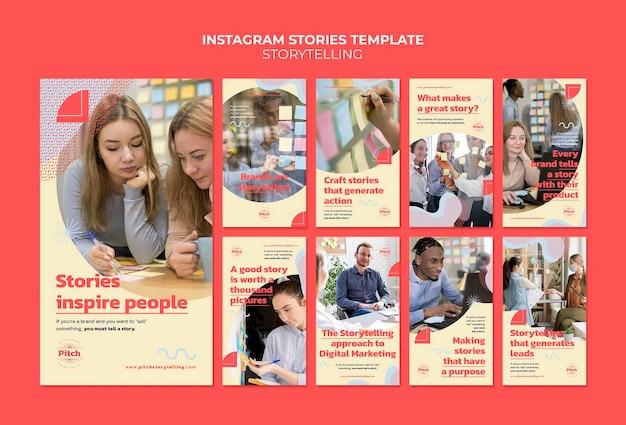 Opowiadanie historii na instagramie
