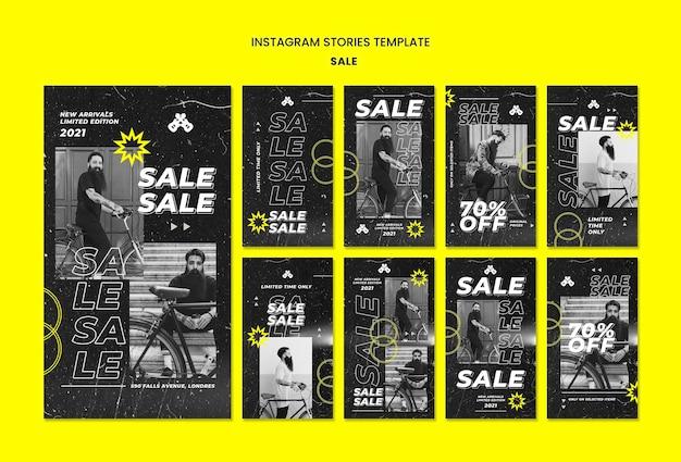 Opowieści o sprzedaży mody w mediach społecznościowych