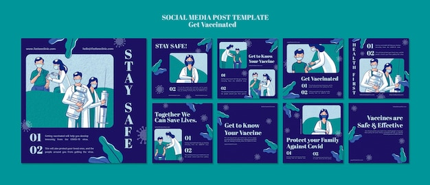 Otrzymuj zaszczepione posty z historiami na instagramie