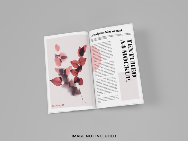 Otwarta makieta magazynu do reklamy