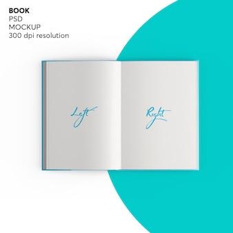 Otwórz książkę mockup
