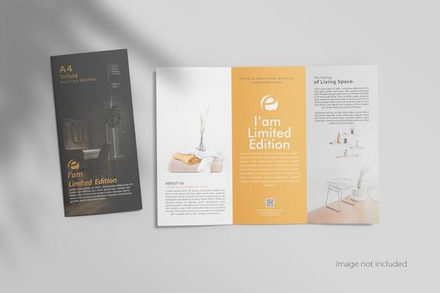 Otwórz makietę broszury potrójnej