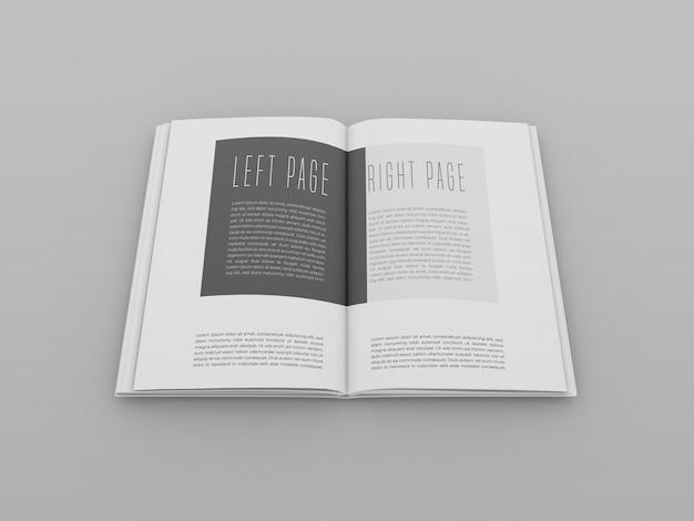 Otwórz makietę książki