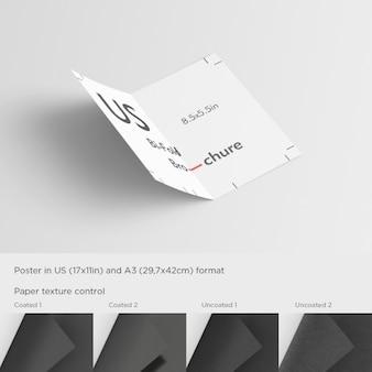 Otwórz szablon broszura