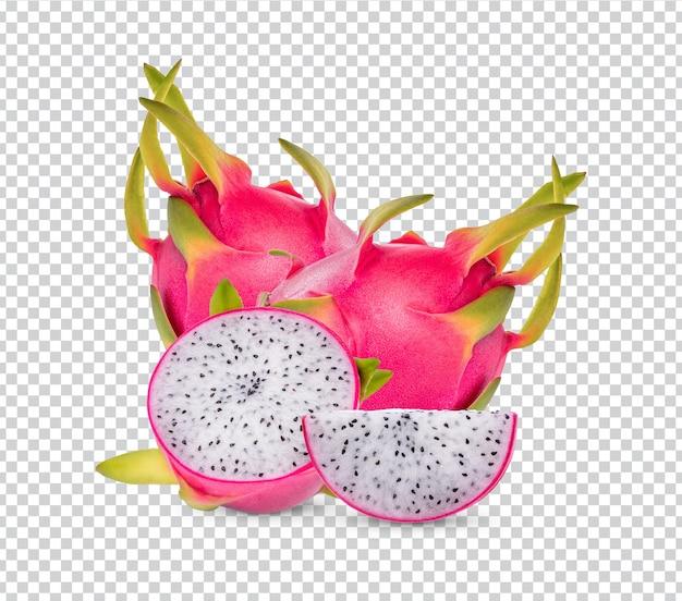 Owoce smoka izolowane premium psd