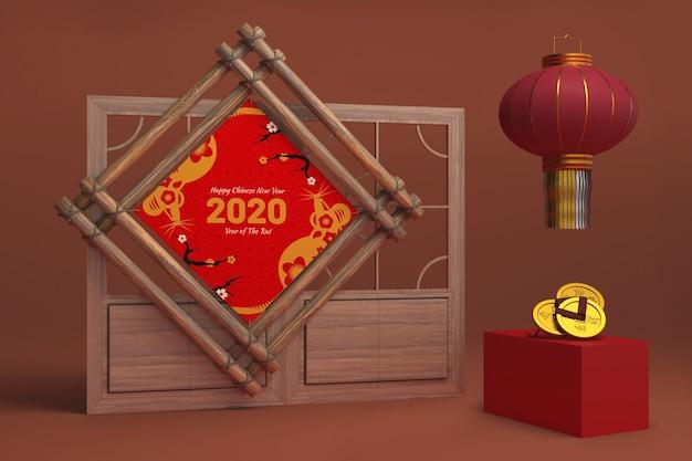 Ozdoby dekoracyjne na nowy rok