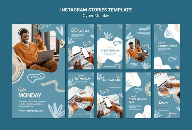 Pakiet historii mediów społecznościowych w cyberponiedziałek