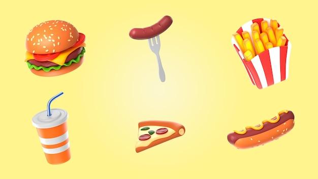 Pakiet renderowania żywności