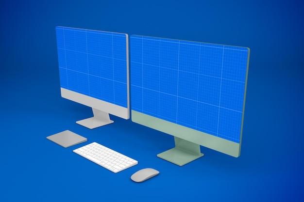 Pełny ekran komputera