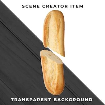 Piekarnia chlebowa transparentna psd