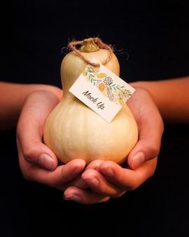 Piękna makieta koncepcji dziękczynienia