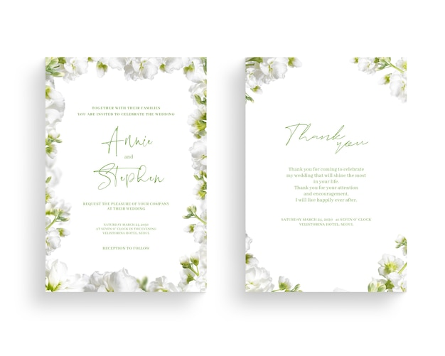 Piękna wiosna kwiat rama, zaproszenie, karta ślubu, dzięki pozdrowienia.