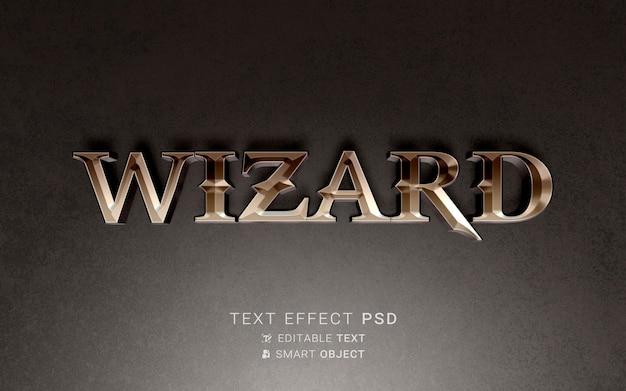 Piękny efekt tekstowy kreatora