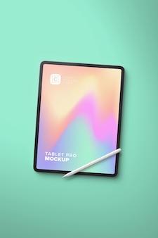 Pionowy pionowy wyświetlacz tabletu pro do sztuki cyfrowej z piórem