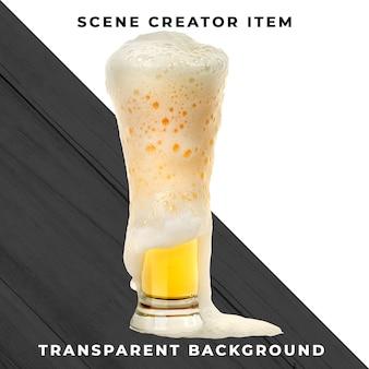 Piwo przezroczyste psd