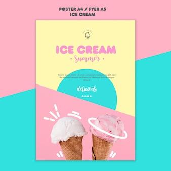 Plakat lody