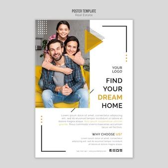 Plakat nieruchomości