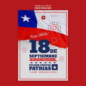 Plakat z okazji międzynarodowego dnia chile