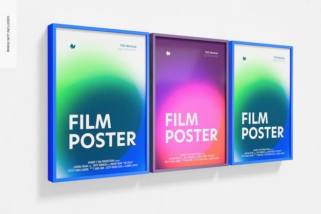 Plakaty filmowe makieta, perspektywa