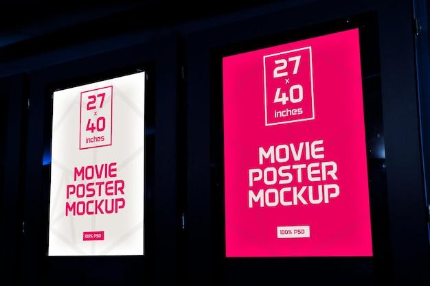 Plakaty filmowe makiety