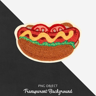 Plaster kanapki hotdog
