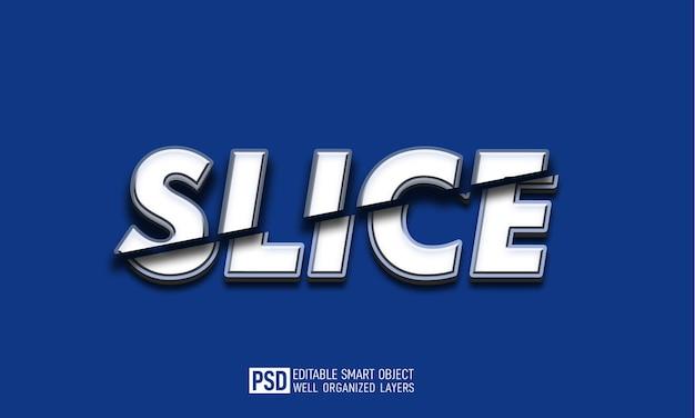 Plasterek tekstu 3d edytowalny szablon efektu stylu