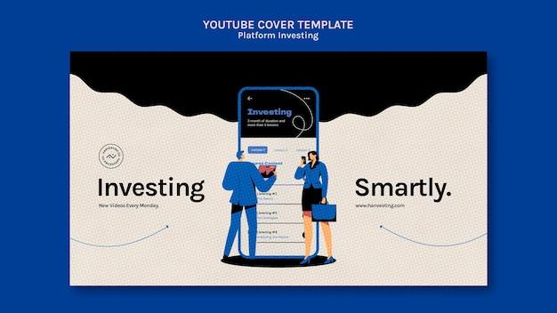 Platforma inwestująca okładkę youtube