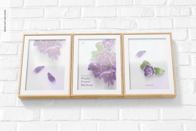 Plegable photo frame makieta, trzymanie